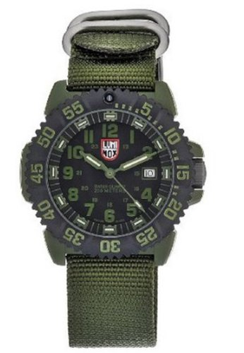 Luminox Men's 3042 Quartz Black Dial Interchangeable Band Watch
