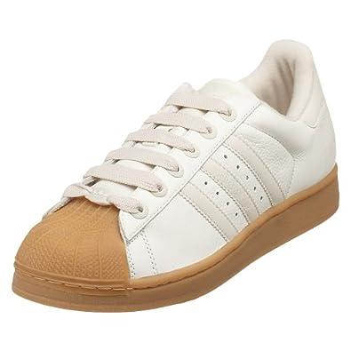 adidas Originals Men's Superstar II Basketball Shoe, Legacy/Bone/Gum, 8 M