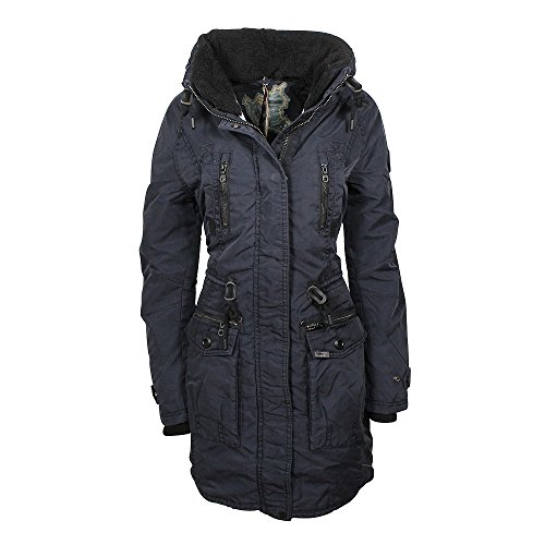 Khujo Claire giacca navy, Frauen:S