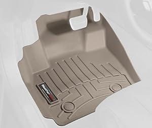 WeatherTech Custom Fit Front FloorLiner for Ford F150, Tan