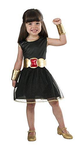 Marvel Black Widow Costume Tutu Dress