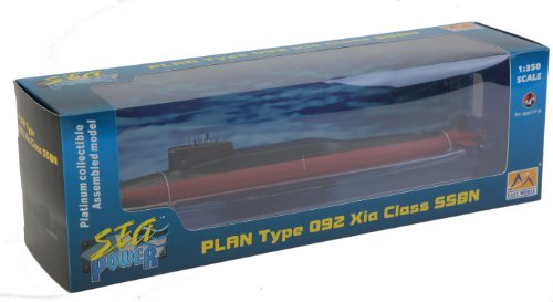 Easy-Model-37506-Fertigmodell-PLAN-Type-092-Xia-Class-Submarine