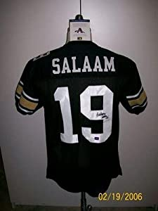 Rashaam Salaam Auto Colorado Buffalos Jersey 94 Heisman - Autographed NHL Jerseys by Sports+Memorabilia