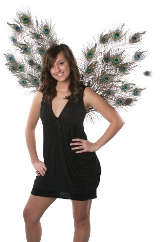 Zucker Feather Products Decorative Natural Peacock Wings