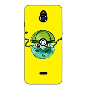 Happoz Infocus M2 Cases Back Cover Mobile Pouches Shell Hard Plastic Graphic Armour Premium Printed Designer Cartoon Girl 3D Funky Fancy Slim Graffiti Imported Cute Colurful Stylish Boys D428