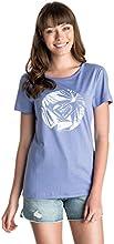 Roxy Basic T-Shirt de sport Femme Light Denim FR : 36 (Taille Fabricant : S)