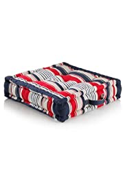 Hampton Striped Floor Cushion [T47-8720-S]