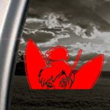 TINKERBELL FAIRY DISNEY Red Decal Truck Window Red Sticker