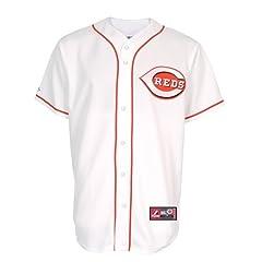 Ken Griffey Jr. Cincinnati Reds MLB Majestic Home # 30 Jersey by VF LSG