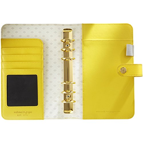 color-crush-a2-faux-leather-personal-planner-6-ring-binder-yellow