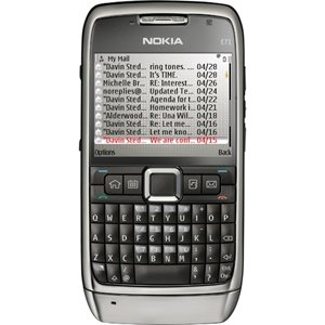 Nokia E71 Unlocked Phone with 3.2 MP Camera, 3G, Media Player, GPS Navigation, Free Voice Navigation, Wi-Fi, and MicroSD Slot--U.S. Version with Warranty (Gray)