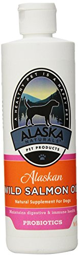 Alaskan Natural Salmon Oil Salmon Oil With Probiotics For Dogs, 16-Ounce Bottle