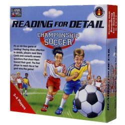 Learning Well Reading for Detail Championship Soccer Game, Reading Levels 2.0 to 3.5