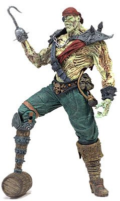 McFarlane Toys Spawn 3 Inch Series 2 Figure Pirate Spawn - 1