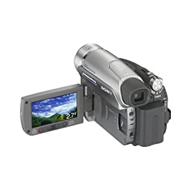 Sony DCR-HC96 MiniDV 3.3MP Digital Handycam Camcorder with 10x Optical Zoom (Includes Handycam Station)