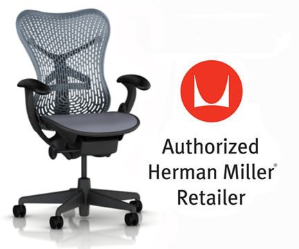 Herman Miller Mirra Chair Basic Home Office Desk