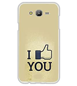 ifasho I am In love Back Case Cover for Samsung Galaxy J5