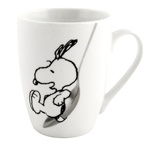 """Tazza con soggetto Snoopy Peanuts con scritta """"Heute ist dein Tag"""" [lingua tedesca]"""