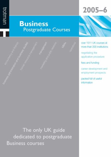 Business Postgraduate Courses 2006/07