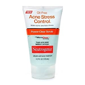Neutrogena Oil-Free Acne Stress Control, Power-Clear Scrub 4.2 fl oz (125 ml)