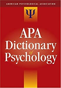 Cover of &quot;The APA Dictionary of Psycholog...