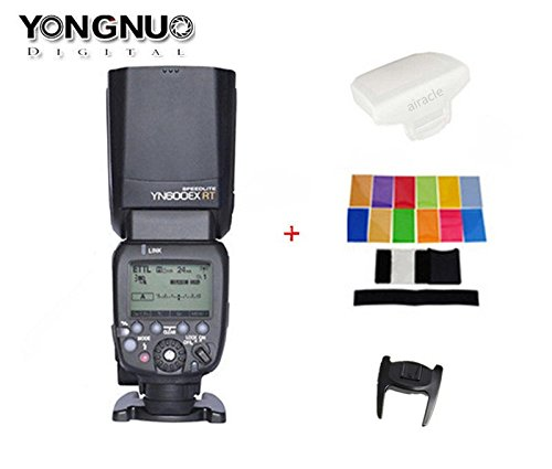 Yongnuo-YN600EX-RT-Flash-Speedlite-for-YN-E3-RT-Canons-600EX-RTST-E3-RT-Wireless-Signal-Camera-LCD-Display-USB-Firmware-Upgrade-18000sec-Sync-Speed-with-Color-Gel-Filters-Diffuser
