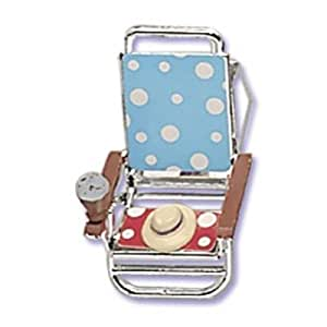 Oasis Supply Cupcake/Cake Beach Chair Topper and Even a Beach Hat on the Chair, 2-Inch, 1-Pack