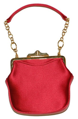 Ralph Lauren Collection Red Evening Purse Bag