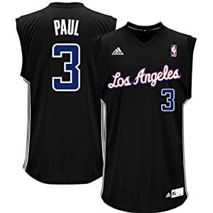 NBA adidas Chris Paul Los Angeles Clippers Chase Replica Jersey - Black by adidas