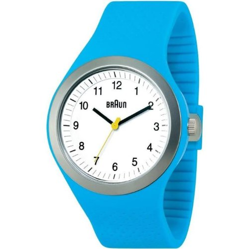 Braun BN0111WHBLG - Reloj (Reloj de pulsera, Unisex, Acero inoxidable, 4,6 cm, 1,25 cm)