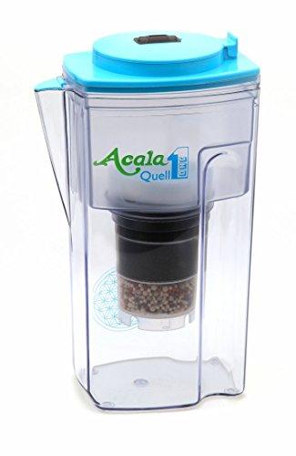Filtro Acqua AcalaQuell One Caraffa Filtrante   Azzurra   Prestazioni di filtrazione elevatissime   Cartuccia del filtro multistrato   PI - Tecnologia   Filtro Spugna   Sistema Con Filtro Acqua   Principi naturali   intensa R&D. Crea una deliziosa degustazione e acqua salutare