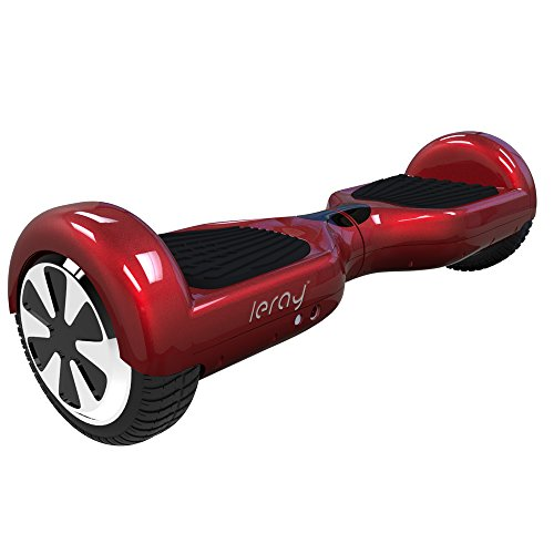 "Leray™ Self Balancing Scooter Balance Motion 6.5"" Two Wheel Hoverboard with Certified Safe Battery Pack (Red)"