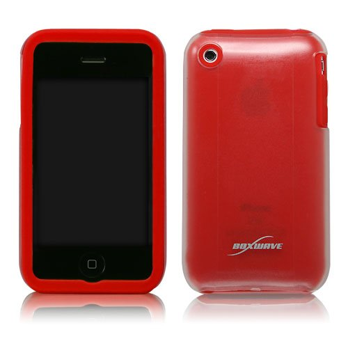 BoxWave ArcticSkin iPhone 3GS Case (Scarlet Red)
