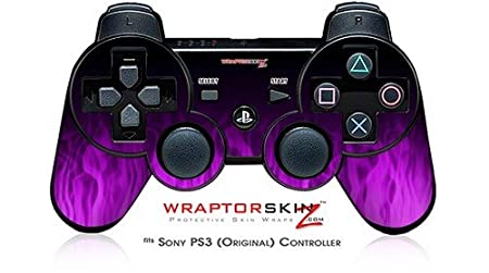 Sony PS3 Controller Skin - Fire Purple