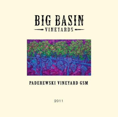 2011 Big Basin Vineyards Paderewski Vineyard Gsm Paso Robles Blend - Red 750Ml