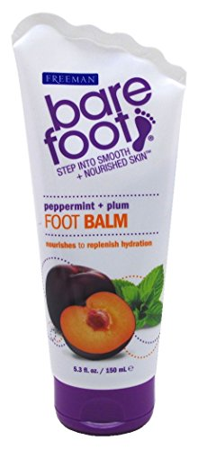 Freeman Bare Foot nourishes to hydration Balm Peppermint & Plum 5.3 oz.