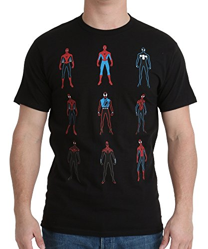 Evolution of Spiderman T-Shirt X-Large