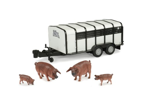 Ertl Big Farm 1:16 Hog Trailer With Hogs front-1008603