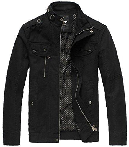 Wantdo Men's Casual Slim Jacket & Outcoat LD2188