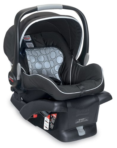 Britax B-Safe Infant Car Seat, Black front-993322