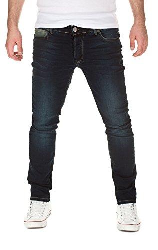 YAZUBI - Jeans Edvin Slim Fit, slim fit, uomo, blue used (202), W33/L32