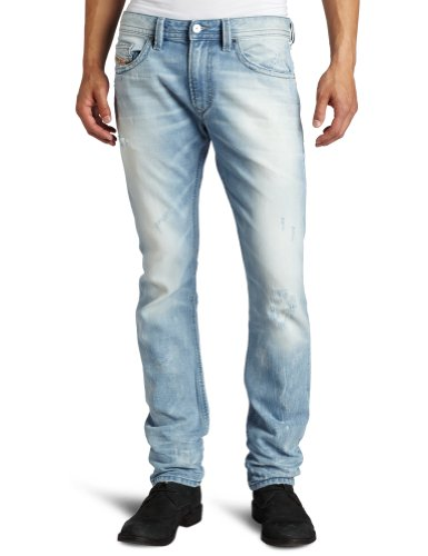 Brand New With Tags Diesel Thavar 8880M Mens Jeans, 08880M, Skinny Fit Tapered Leg (30 x 32)
