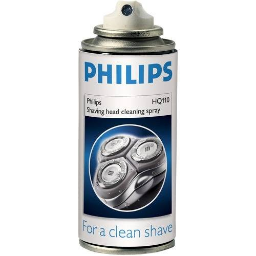 Norelco Philips Cleaner And Lubricant Spray For All Shavers 4 Oz, Alcohol Based With Lubricating Components, And Leaves Your Philips Norelco Shaver Heads Fresh And Clean