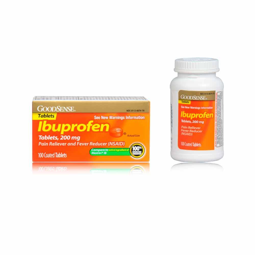 ibuprofen alcohol stomach pain