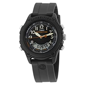 Timex Men's T49742 Analog-Digital Resin Strap Expedition Rubber Strap Watch