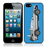 Apple iPhone 5 / 5S Car Collection Back To The Future Glossy Image Hard Back 2D Printed Case by Call Candy - (122-095-186)