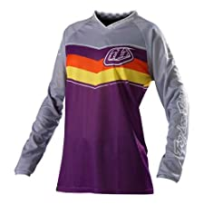 Troy Lee Designs Women's GP Airway Jersey XLarge/Purple