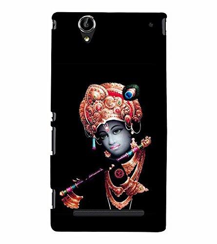 Snapdilla Religious Devotional Indian Lord Hare Krishna Venumadhava Flute Back Cover for Sony Xperia T2 Ultra :: Sony Xperia T2 Ultra Dual SIM D5322 :: Sony Xperia T2 Ultra XM50h  available at amazon for Rs.197