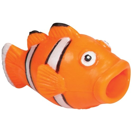 Warm Fuzzy Toys Pop Mouth Clown Fish Novelty