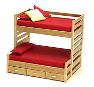 bedroom furniture oak bunk beds with trundle bed toys